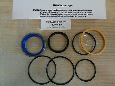 90940bh Bush Hog Replacement Seal Kit 2-14 Cylinder X 1-12 Rod Old 90940