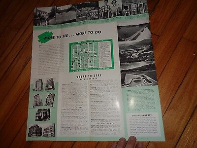 Vintage Brochure for Knoxville Tennessee