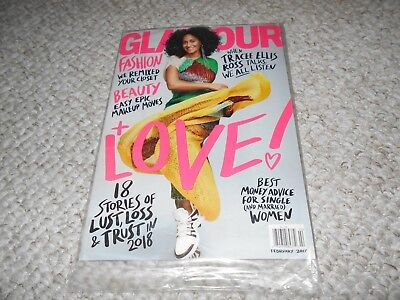 Glamour 2018 Subscriber Cover Sealed Tracee Ellis Ross Blackish