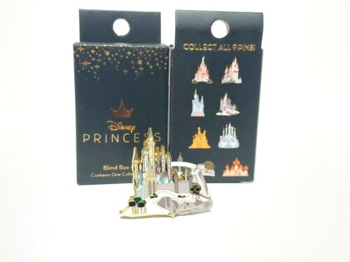 Sleeping Beauty Aurora Disney Princess Castle Blind Box Mystery Pin Loungefly