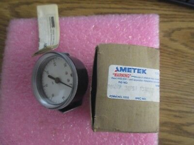 Ametek Model P844u Pressure Gauge. Pn 138012. New Old Stock