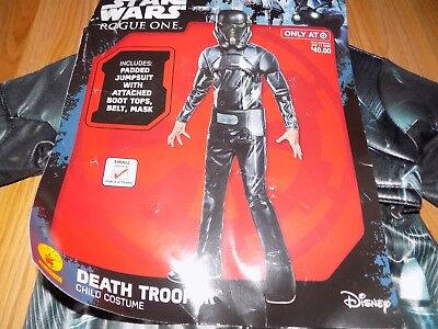 Size Small 4-6 Disney Star Wars Rogue One Death Trooper Halloween Costume Mask - Halloween 4 Deaths