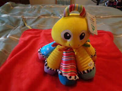 Lamaze NWT Octotunes Musical Octopus Stuffed Baby Toy Early Child Development