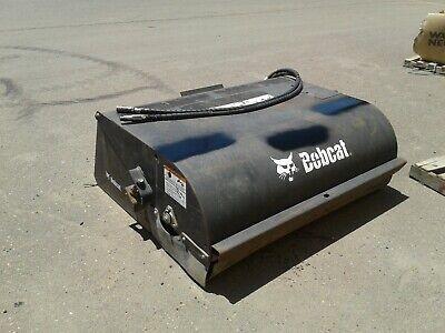 Bobcat 6707144 60 In. Sweeper Hydraulic Skid Steer Box Broom Attachment