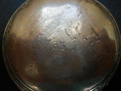 Old Waltham Pocket Watch 18s 130 grams stamped 14k not running.