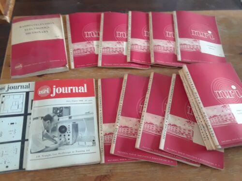 Vintage AMATEUR RADIO Books Lot - National Radio Institute manuals, guides
