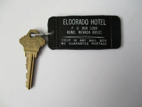 vintage Eldorado Reno Nevada Casino Hotel Room Key Fob Tag