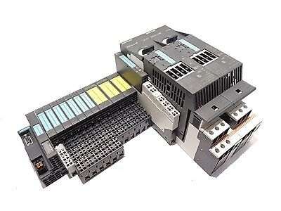 Plc Setting (Siemens PLC Modules with Motor Starters, Complete Set of Modules and)