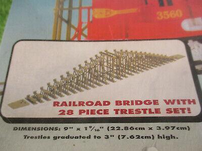 NOS MINT Life Like City Express Girder Bridge & Trestle Train Track Set