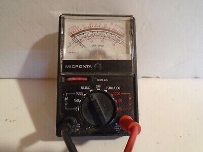 Vintage Micronta Multitester Multimeter - 2000 Ohms 22-212