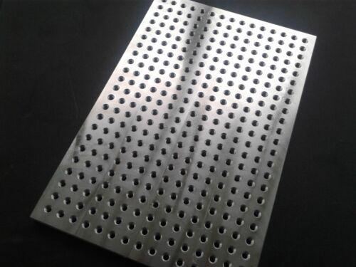 """Sacrificial fixture plate or mini pallet - 8"""" x 12"""" aluminum"""