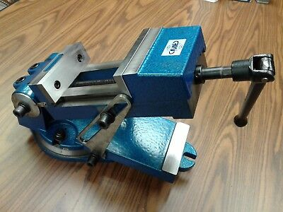 6 Sine Vise Angle Vise Heavy Duty W. Swivel Base6-12 Opening 850-qzx160-new