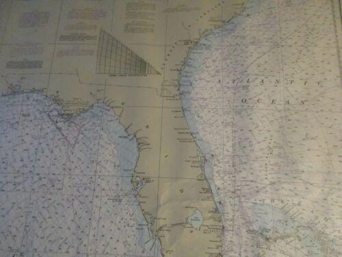 4 Geological Survey Maps - U.S. Eastern Coasts - 1970