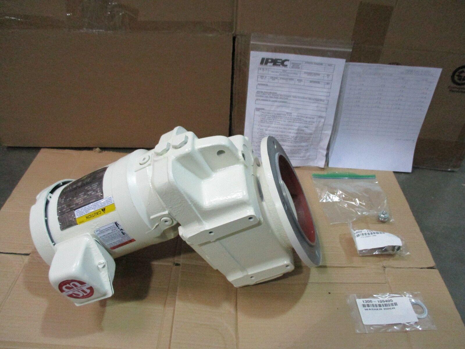 Emerson 6592 Motor & Gear Box, Inverter, Ipec Speedfam Novellus, .50 HP, 420707