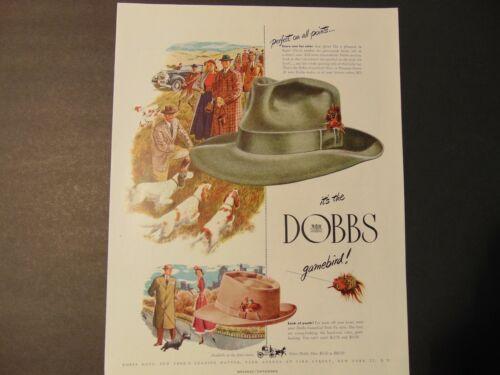 1947 DOBBS Gamebird Men
