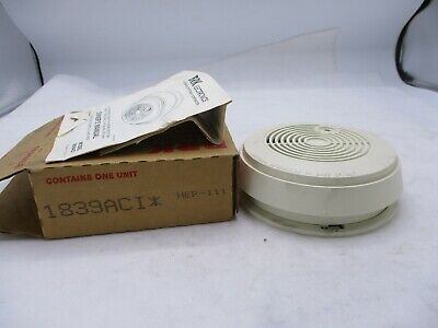 New Brk 1839aci Fire Alarm Smoke Detector