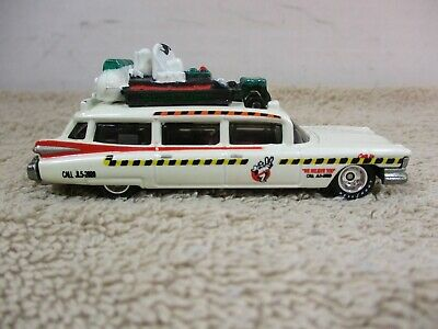 HOT WHEELS ~ 1/64 ~ LOOSE ~ RETRO ENTERTAINMENT ~ 2013 ECTO ~ GHOSTBUSTERS
