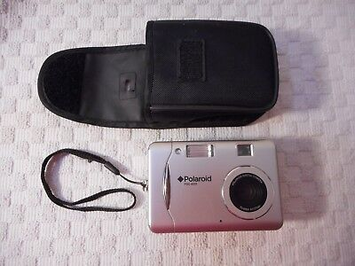 Polaroid camera PDC 4055 4.2 MP Digital Compact Point & Shoot Tested and Works