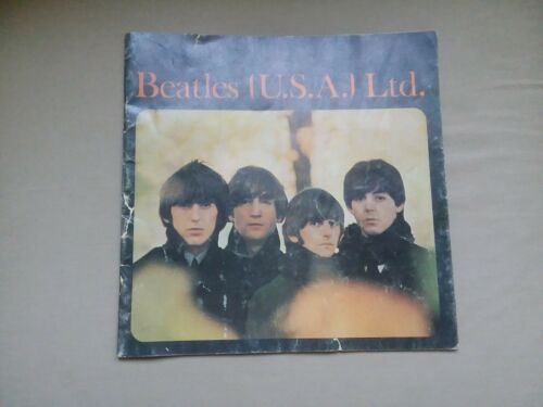 Beatles (U.S.A.) LTD 1965 tour book