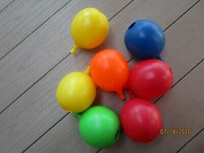 Vintage Blinky Blow Mold Balloon Patio Party Replacement Light Covers No String