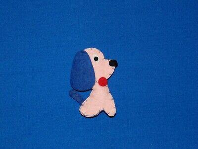 VINTAGE BARBIE NIGHTY NEGLIGEE DOG FELT DOG