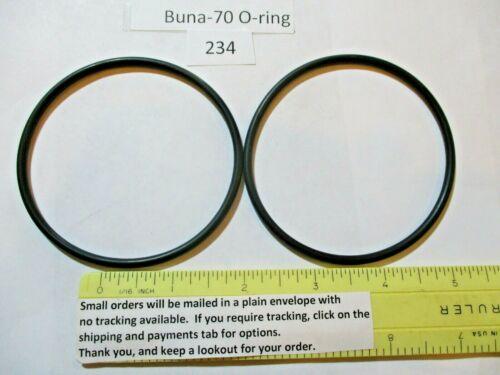 "234 O-ring 3"" ID x 3-1/4"" OD x 1/8"" thick. Buna-70.   Quan 2."