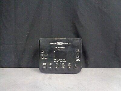 Simpson 260 Adapter AC Ammeter model 653