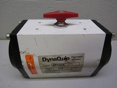 Dynaquip Ap73da Pneumatic Actuator