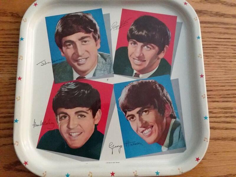 Beatles Vintage Original Worcester Ware Serving Tray Very Good Condition