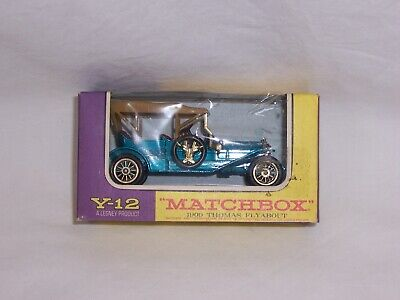 LESNEY MATCHBOX 1909 Y-12 THOMAS FLYABOUT MODELS OF YESTERYEAR DIECAST 1/48 NIB