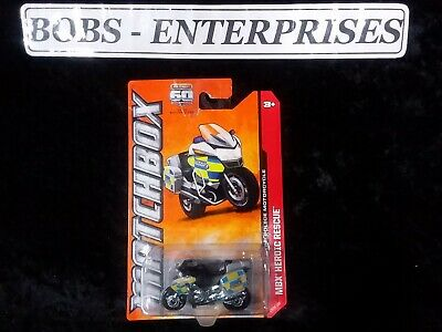 Matchbox MBX Heroic Rescue BMW R-1200 RT-P Police Motorcycle ec-526