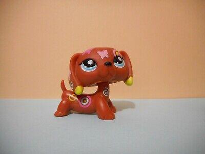 Petshop chien teckel marron / dachshund dog n°1010