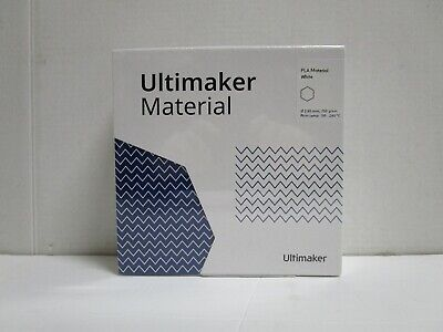 Ultimake Material Pla Material White 1613 750grams New Sealed Ships Free