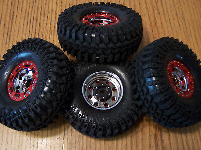 Marlins Rocks - 4 RC4WD TRO 1.7 Steel Beadlock Wheels Interco Irok Tires Marlin Crawler Rock TF2