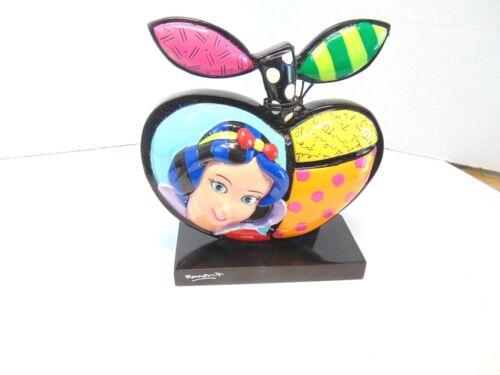 Romero Britto Snow White Apple Figurine Paperweight