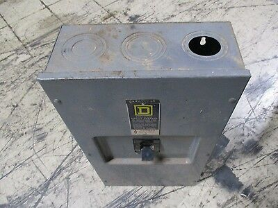 Square D Enclosed Circuit Breaker Lal36250 250a 600v 3p Used
