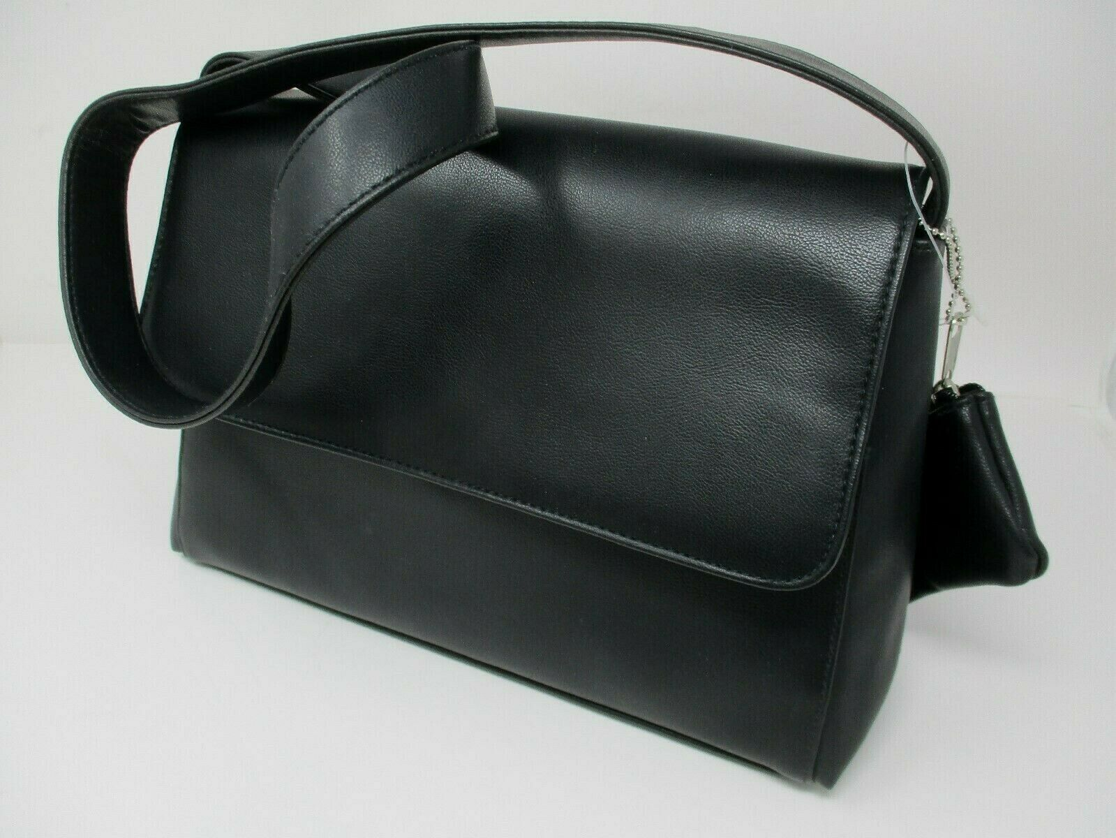 Carryland America Black Leather Classic Shoulderbag Purse New With Tags