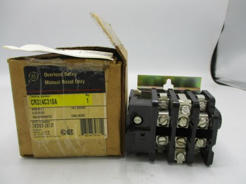 NEW GE GENERAL ELECTRIC CR314C310A OVERLOAD RELAY