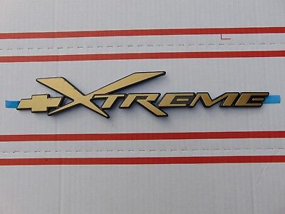 BRAND NEW S10 XTREME BLAZER DOOR TAILGATE XTREME EMBLEM GOLD COLOR