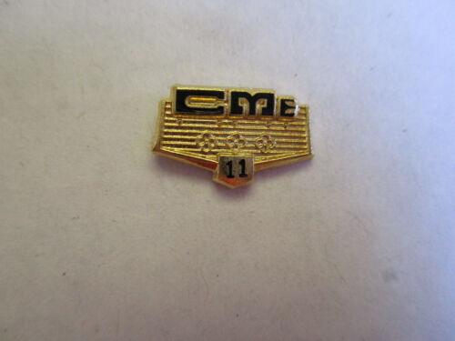California Motor Express CME 11yr Trucking Truck Driver Safety Award Pin