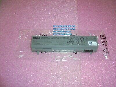 NEW OEM GENUINE Dell Latitude BATTERY E6400 E6410 E6500 E6510 ND8CG PT434 W1193