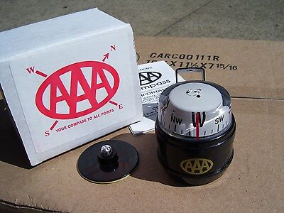 Vintage 70S Nos Mint Aaa Auto Club Compass Gauge Dash Kit Gm Car Cadillac Olds