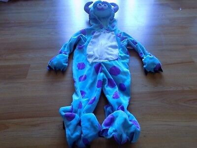 Infant Size 6-9 Months Disney Pixar Monsters Inc Sully Sulley Halloween Costume - Monsters Inc Infant Halloween Costumes