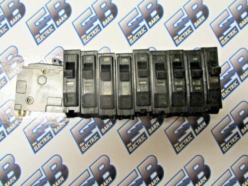 Square D QO115, 15 Amp, 120V, 1 Pole, blk, Circuit Breaker -WARRANTY -LOT OF 10