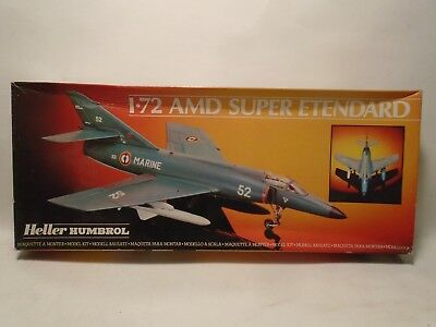 HELLER 80360 1/72 SCALE AMD SUPER ETENDARD IN ORIGINAL BOX