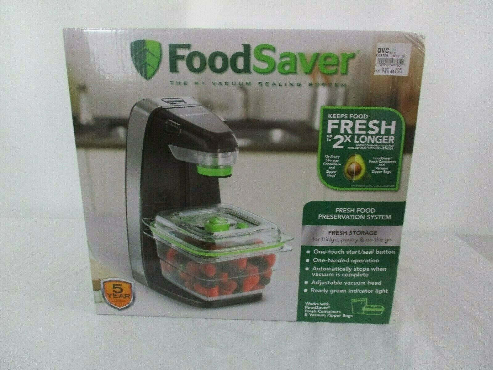 Food Saver #1 Vacuum Sealing System New In Box FM1230-000