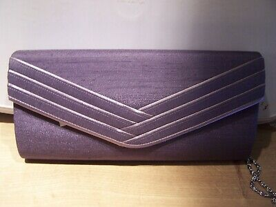 JACQUES VERT  CLUTCH BAG  - NEW WITH TAGS - MAUVE