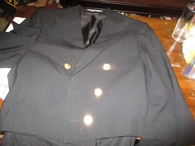 us navy mess dress officers uniform w/trousers size 41 (Us Navy Mess Dress)