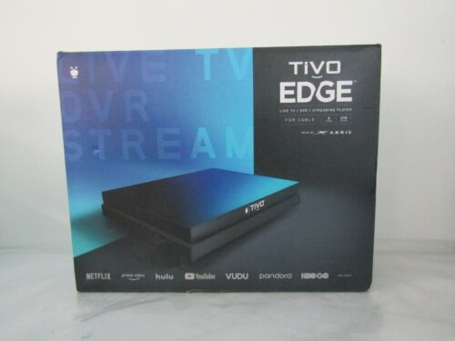 TiVo Edge for Cable | Cable TV, DVR and Streaming 4K UHD Media Player