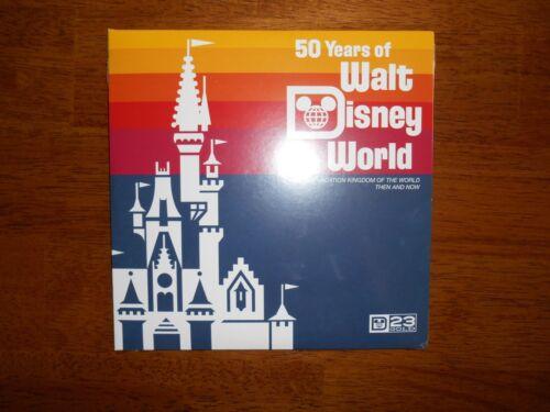 D23 Gold Membership 2021 Mini Vinyl Record Walt Disney World Then and Now SEALED